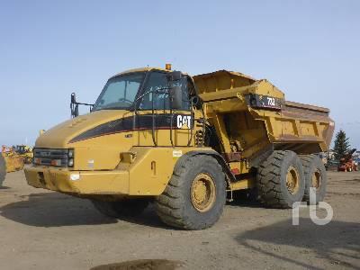 2005 CATERPILLAR 730EJ 6x6 Articulated Dump Truck