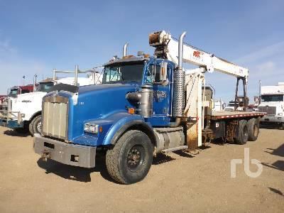1994 KENWORTH T800 T/A w/JLG 2250JRT Boom Truck