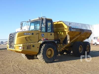 2006 JOHN DEERE 300D 6x6 Articulated Dump Truck