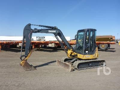 2011 JOHN DEERE 50D Midi Excavator (5 - 9.9 Tons)