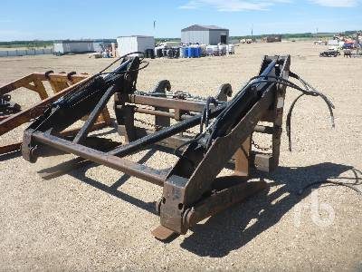 WBM Q/C 54 In. Pipe Wheel Loader Forks