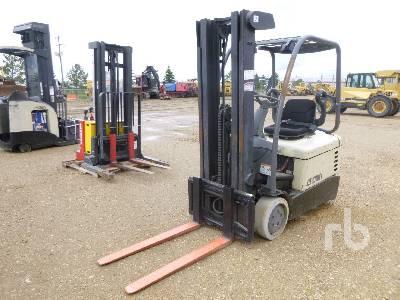 2011 CROWN SC4020-35 TT190 Electric Forklift