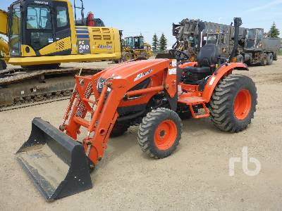2016 KIOTI CK3510H MFWD Utility Tractor