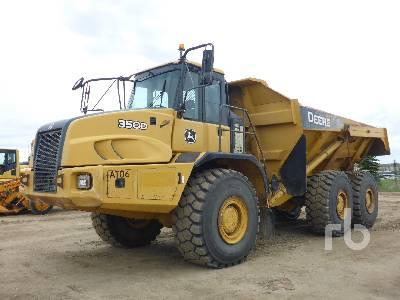 2007 JOHN DEERE 350D 6x6 Articulated Dump Truck