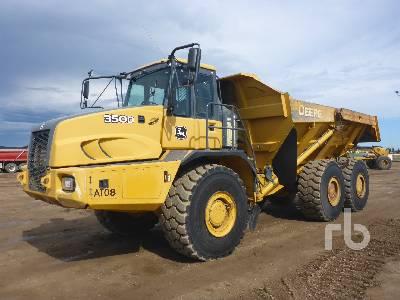 2008 JOHN DEERE 350D 6x6 Articulated Dump Truck