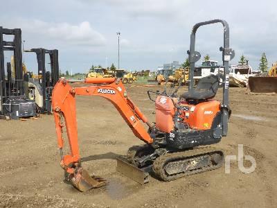 2015 KUBOTA K008-3 Mini Excavator (1 - 4.9 Tons)