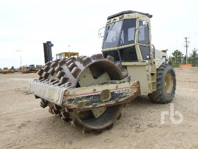 1995 INGERSOLL-RAND SD115F Pro Pac Vibratory Padfoot Compactor
