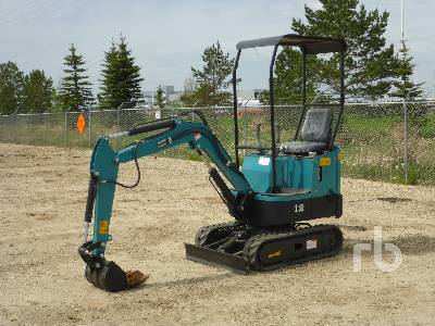 Unused 2021 AGROTK YM10 Mini Excavator (1 - 4.9 Tons)
