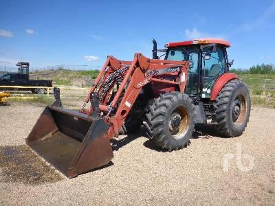 2003 CASE IH MXU125 MFWD Tractor