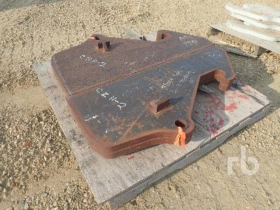 AMI Qty Of Blank Lugs Wheel Loader Attachment - Other