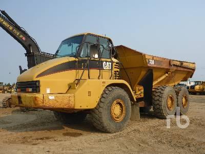 2001 CATERPILLAR 730 6x6 Articulated Dump Truck