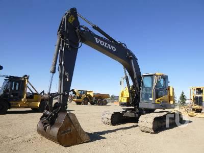 2012 VOLVO ECR235DL Hydraulic Excavator