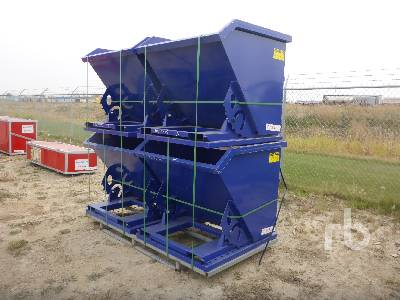 Unused SUIHE Qty Of 4 Self-Dumping Hopper Container Equipment - Other