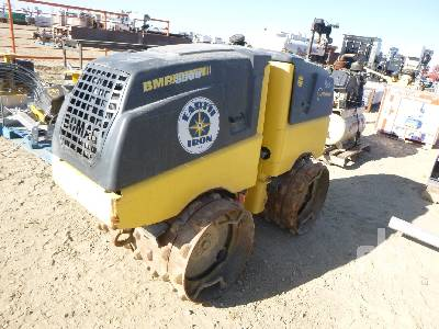 2012 BOMAG BMP 8500 Vibratory Trench Compactor