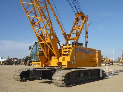 2008 KOBELCO CK850 85 Ton Crawler Crane