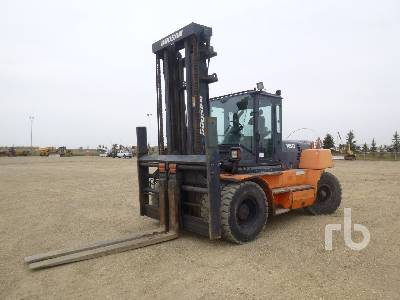 2008 DOOSAN D160S-5 4x4 Rough Terrain Forklift