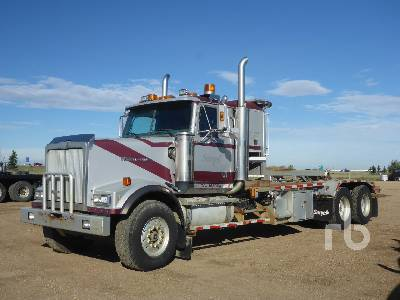 2004 WESTERN STAR 4900FA T/A Texas Bed Winch Tractor