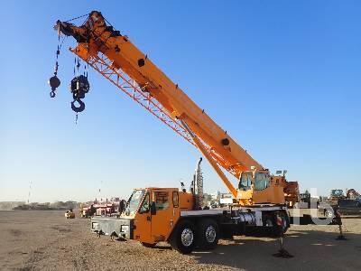 2007 LINK-BELT HTC8675 75 Ton T/A T/A Hydraulic Truck Crane