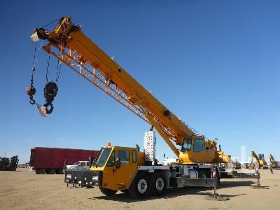2012 LINK-BELT HTC8675 Series II 75 Ton Hydraulic Truck Crane