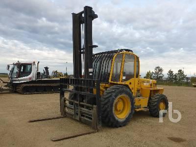 2006 SELLICK S120-4 4x4 Rough Terrain Forklift