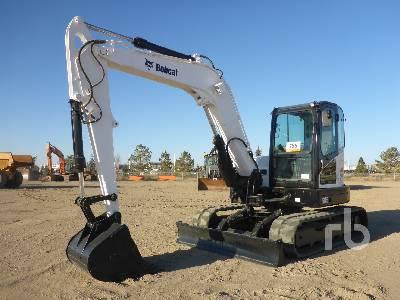 2014 BOBCAT E85M Midi Excavator (5 - 9.9 Tons)
