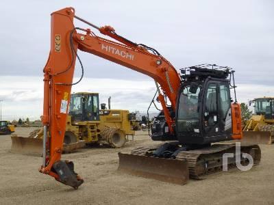 2019 HITACHI ZX135US-6 Hydraulic Excavator