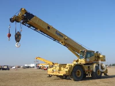 1997 GROVE RT855B 55 Ton 4x4x4 Rough Terrain Crane