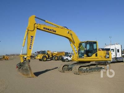 2018 KOMATSU PC200LC-8 Hydraulic Excavator