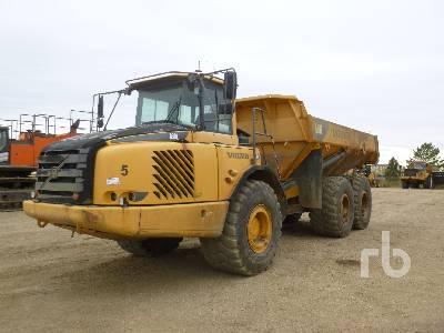 2008 VOLVO A30E 6x6 Articulated Dump Truck