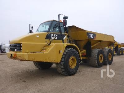 2011 CATERPILLAR 740 6x6 Articulated Dump Truck