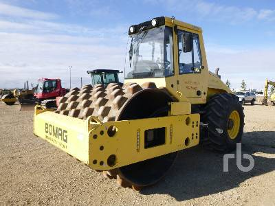 2012 BOMAG BW213PDH-40 Vibratory Padfoot Compactor
