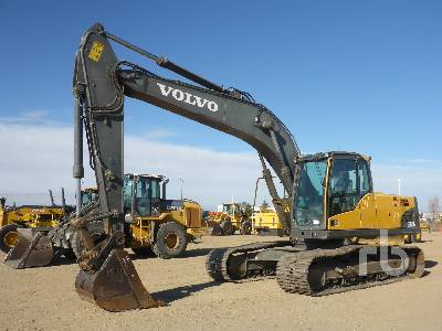 2012 VOLVO EC210CL Hydraulic Excavator