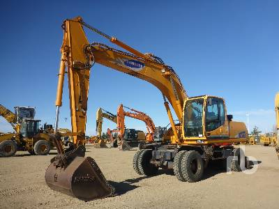 SAMSUNG MX202W 4x4 Mobile Excavator