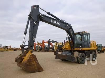 2014 JOHN DEERE 190DW 4x4 Mobile Excavator