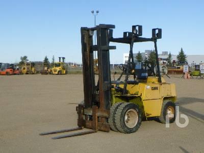 1988 CLARK C500YS80 Forklift