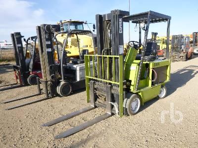 CLARK ECS-30 Electric Forklift