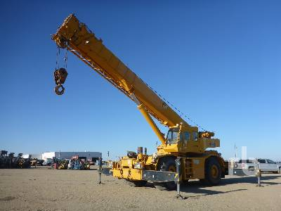 1999 TADANO TR500XL 50 Ton 4x4x4 Rough Terrain Crane
