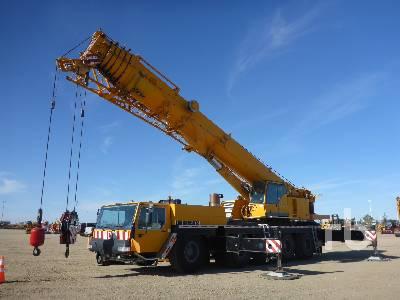 2001 LIEBHERR LTM 1200/1 200 Ton 10x8x8 All Terrain Crane