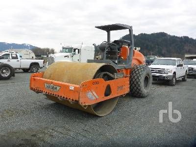 2012 HAMM 3410 84 In Vibratory Padfoot Compactor