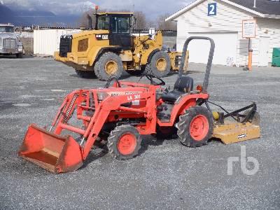1997 KUBOTA B1700HSD 4WD Utility Tractor