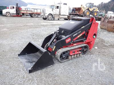 Unused 2018 TORO DINGO TX525 Walk Behind Multi Terrain Loader