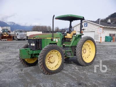 1995 JOHN DEERE 7200 MFWD Tractor