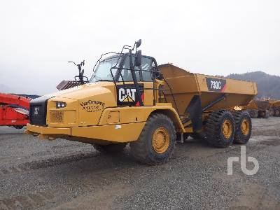 2016 CATERPILLAR 730C Articulated Dump Truck