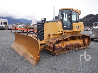2007 JOHN DEERE 850J WLT Crawler Tractor