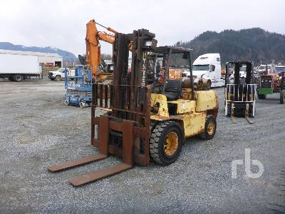 1996 HYSTER H110XL 10000 Lb Forklift