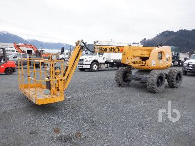 2013 HAULOTTE HA5IJRT Articulated Boom Lift