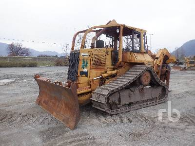 1986 CATERPILLAR D5H LGP Track Grapple Skidder