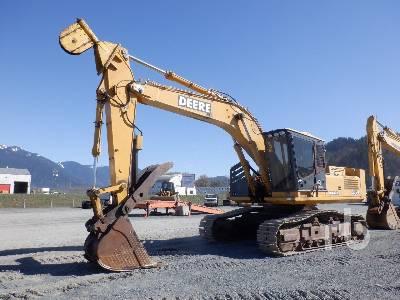 2005 JOHN DEERE 3554 Roadbuilder Hydraulic Excavator