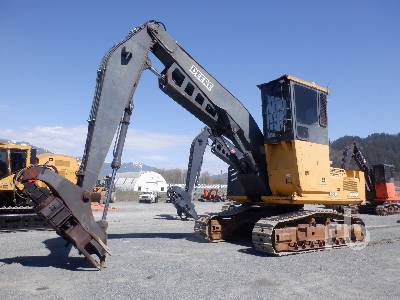 2005 JOHN DEERE 3554 Heel Boom Log Loader