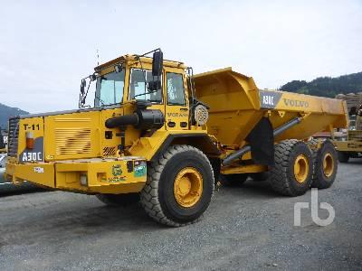 2000 VOLVO A30C Articulated Dump Truck